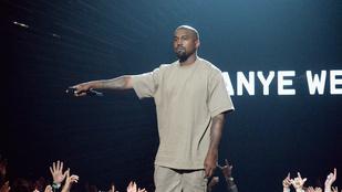 Kanye Westnek beszóltak, ő meg csak mosolygott