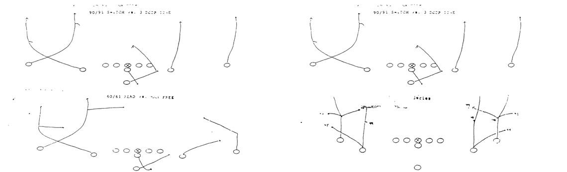 Néhány play az 1992-es playbookból