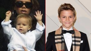 Romeo Beckham a 13 éve alatt olyanokat ért el, amiről ön csak álmodhat
