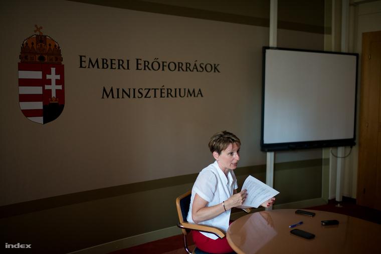 Czunyiné Bertalan Judit köznevelési államtitkár