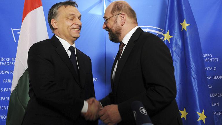 Martin Schulz: Orbán sosem lépett át egy határt