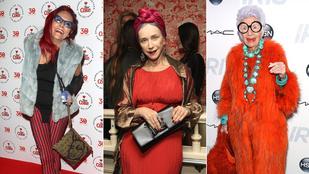 Ki mondta, hogy nem öltözhetünk divatosan 60-70 év felett?