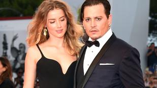Dúl a szerelem a Johnny Depp és Amber Heard között