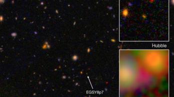 13,2 milliárd éves galaxist találtak
