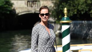 Osvárt Andrea a Velencei Filmfesztiválon mondta el, miért vannak gondjai a férfiakkal