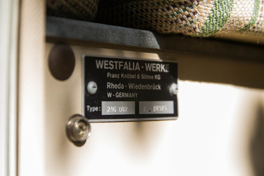 Minden beépített bútoron ott a Westfalia neve
