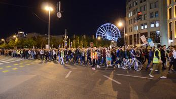 Az egyetemi összevonások ellen tiltakoznak Budapesten