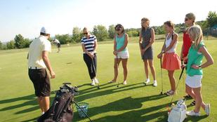 Rendhagyó edzőteremteszt: golfozzon ön is!