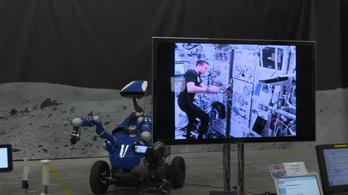 Az űrből irányítottak egy földi robotot