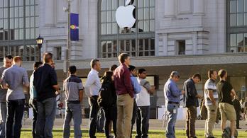 Óriási bírságot kapott az Apple