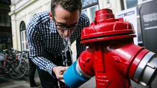 Tűzcsapból jön mostantól az ingyen víz Budapesten