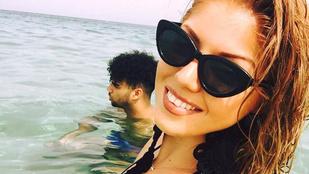 Tolvai Renáta nyaralós fotóin a fiúja a legjobb