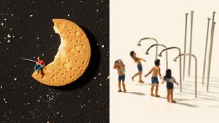 A minivalóságban kekszből van a Hold