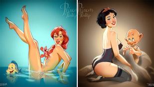 Disney-hősnőket nem látott még ilyen szexinek!