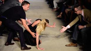 Bukdácsolás és koppintásgyanú a Givenchy bemutatón