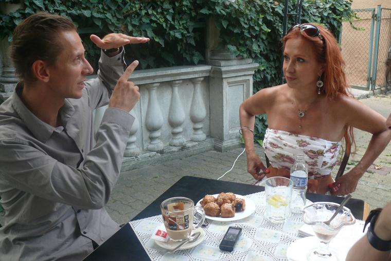 Ruszina Szabolcs és Détár Enikő