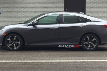 Lelepleződött az új Honda Civic