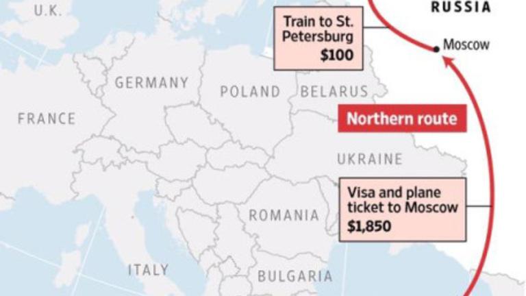 Amerikában megtalálták a menekültek sarkkörön túli útvonalát, ami kikerüli Magyarországot