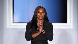Serena Williams nem viccelt a ruhájával a New York-i divathéten