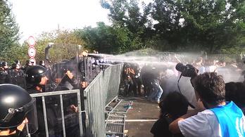 Csata a horgosi határon