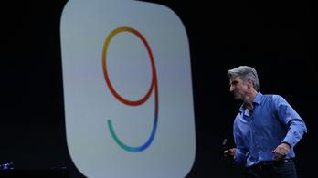 Hatalmas hibát találtak az iOS 9-ben