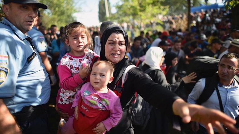 A horvátok se tudják, hova kapják a fejüket menekültügyben