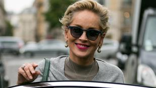 Sharon Stone mellbimbói szerint hideg volt Párizsban