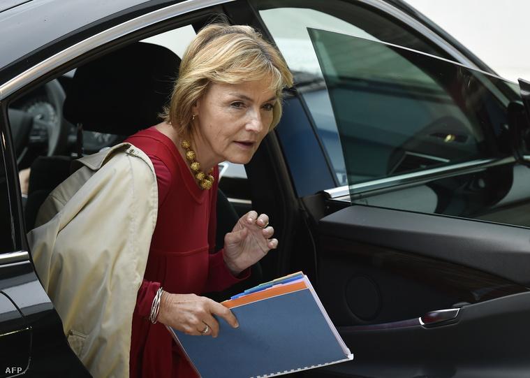 Vesna Pusics, horvát külügyminiszter