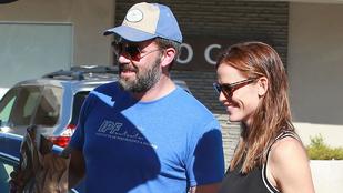 Ben Affleck és Jennifer Garner boldog fotóval zavar össze mindenkit