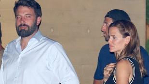 Ben Affleck és Jennifer Garner randevún voltak
