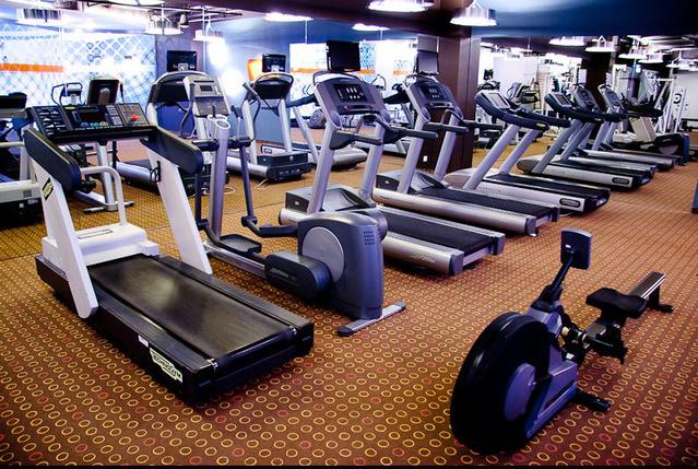 Bank Center Fitness: edzőterem