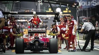 Ezért nyomta le a Ferrari izomból a Mercedest