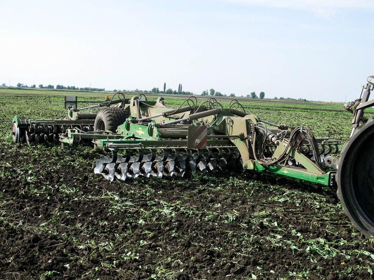 Amit vontatunk: Great Plains SLD 600 nehéz kultivátor