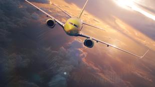 Légiközlekedés-pornó: elég laza ez a leszállás