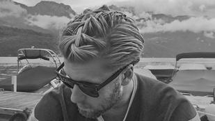Itt az új őrület a férfikonty után: fonott haj