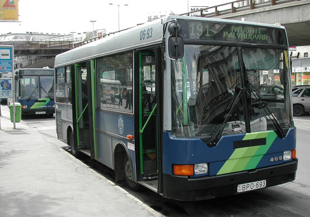 A lecserélendő Ikarus 405-ös