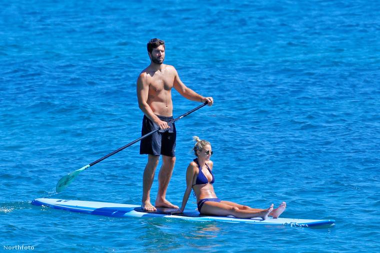 Brody Jenner megpaddleboardoztatja barátnőjét, Kaitlynn Cartert