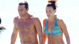 Na most meg melyik olasz focilegenda volt strandon?