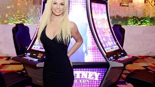 Britney Spears mesésen néz ki Vegasban