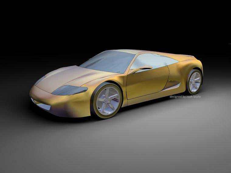 Az első háromdimenziós modell