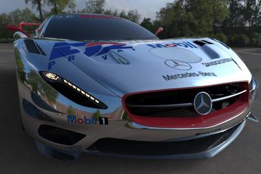 Mercedes-Benz CLK GTR Race