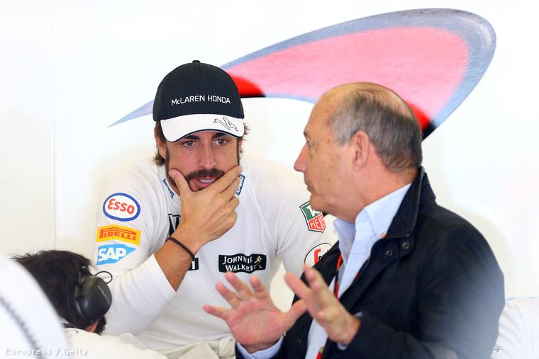 Dennis és Alonso viszonya 2007-ben is nagy egyetértéssel indult, aztán gyors válás lett a vége