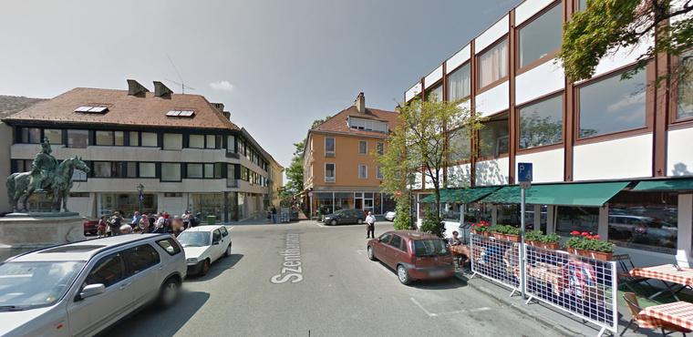 A kiszemelt épület Virág Csaba építész egy 1968-as alkotása, a volt Hadik étterem