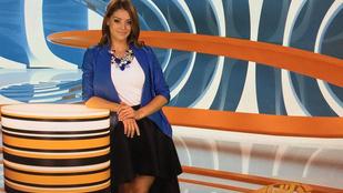 Kulcsár Edina az Aktív új műsorvezetője