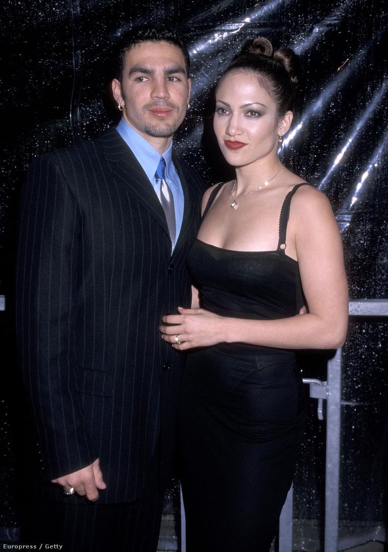 Jennifer Lopez, és rettentően szimpatikus első férje,Ojani Noa