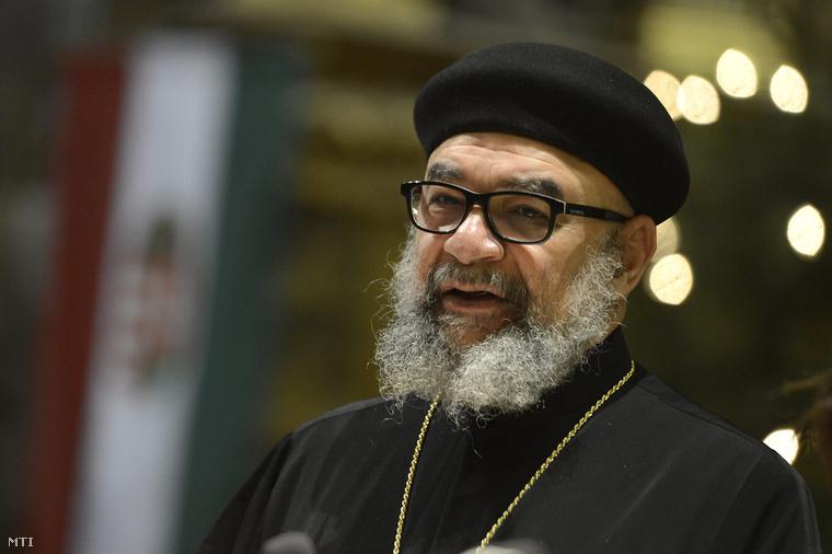 Dr. Youssef Khalil, a Magyarországi Kopt Ortodox Egyház vezetője