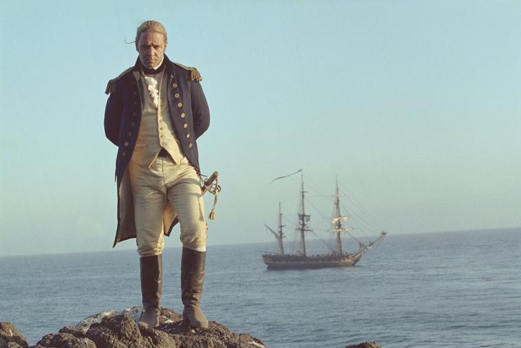 Russell Crowe utoljára 2003-ban alakított bátor hajóskapitányt