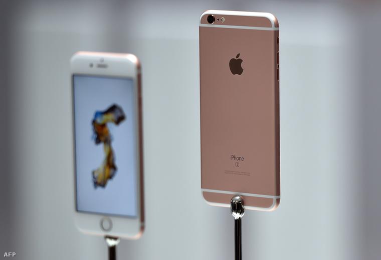 A szintén új Iphone 6s Plus