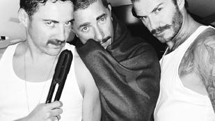 Mégis miért öltözött David Beckham Freddie Mercurynak?