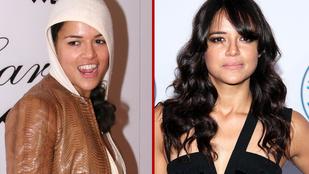 Michelle Rodriguez nem volt mindig ennyire nőies és dögös, kellett hozzá 15 év